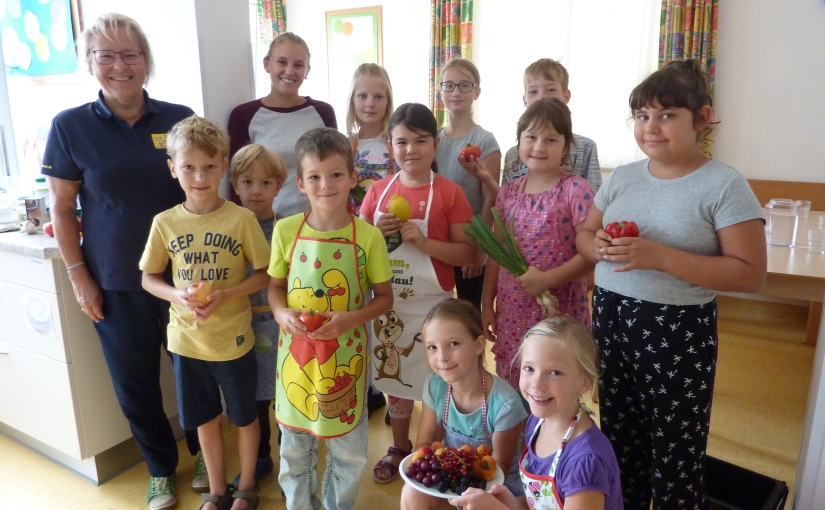Kocherlebnis für Kinder – Ferienspaß2019